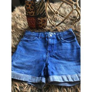 GAP Kids | High Waisted | Medium Wash Denim Shorts